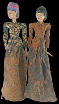 traditional javanese rod puppets